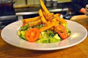 Картофель вместе с овощами