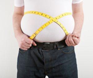 Ожирением
