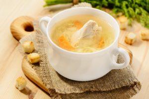 Куриный суп при гастрите