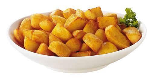Холестерин в жареной картошке