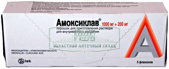 Применение Амоксиклава при лечении цистита и пиелонефрита