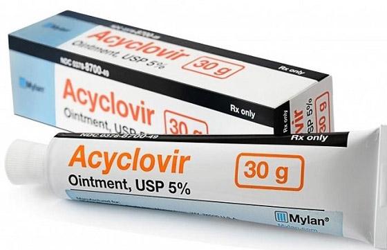 наружная мазь Acyclovir