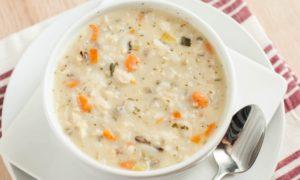 Рисовые супы при гастрите