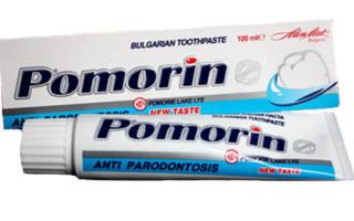 Зубная паста Поморин