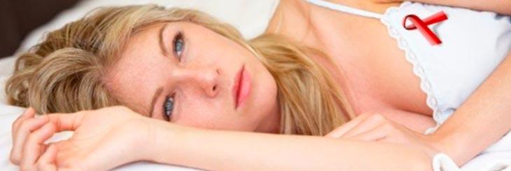 Первые симптомы ВИЧ у женщин