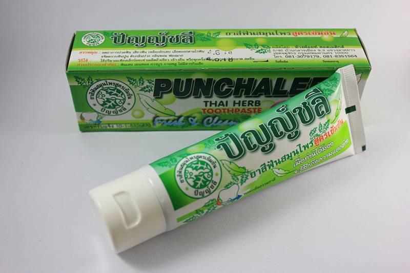 Punchalee Herbal Toothpaste