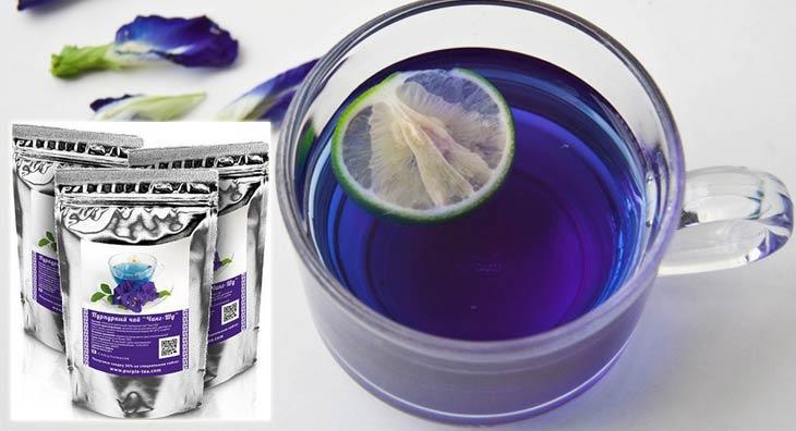 Пурпурный чай Чанг-шу и похудение