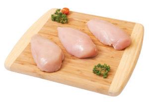 С курицы снять кожицу