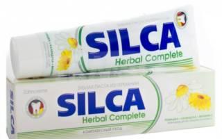Зубная паста SILCA Herbal Complete
