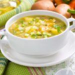 Суп из овощей и крупы