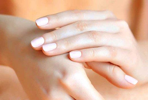 чистая кожа рук