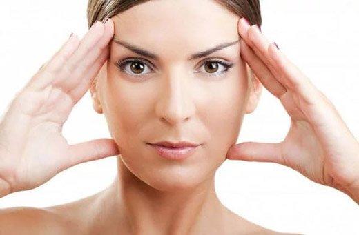 меланома на лице у женщины