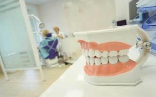 Челюсть в стоматологическом кабинете