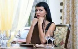 Девушка в ресторане