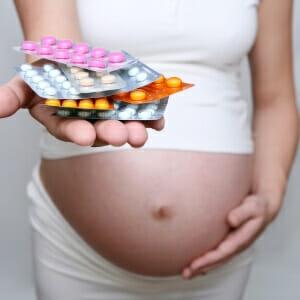 Беременная и таблетки