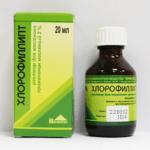 Раствор Хлорофиллипт