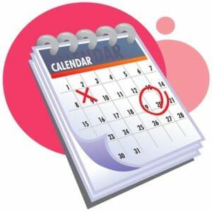 Календарь месячного цикла
