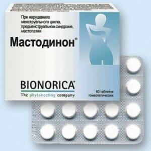 Таблетки Мастодинон