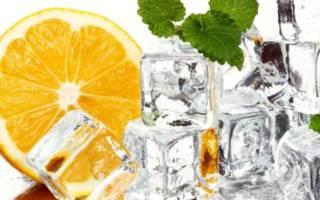 Лед и лимон
