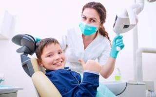 Мальчик вылечил зубы