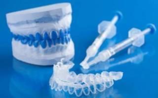 Набор для отбеливания зубов капами