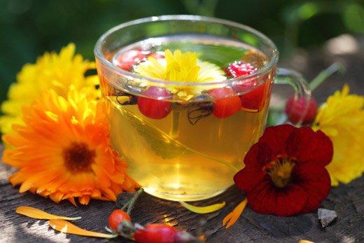 целебный чай с травами