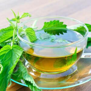 Для отсрочки чай с крапивой