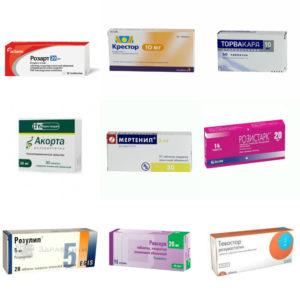 Аналогичные медикаменты