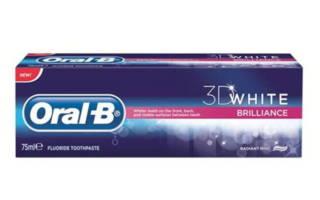Отбеливающая паста Oral-B White 3D