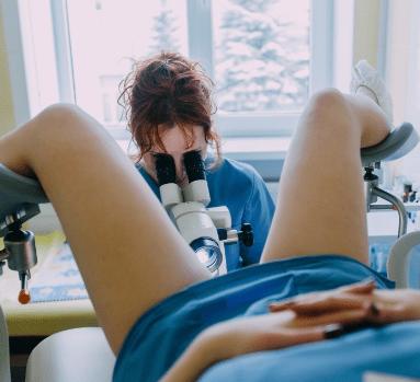 Осмотр гинекологом