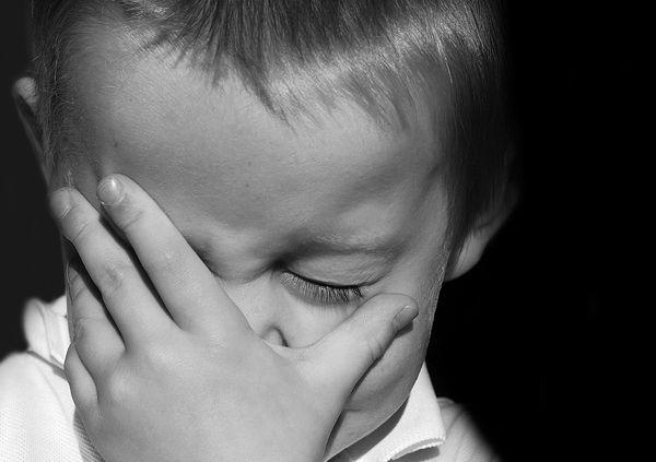 Плач и травма у ребенка
