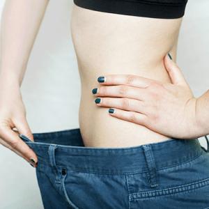 Девушка резко похудела