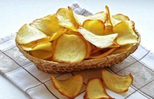 Натуральные картофельные чипсы
