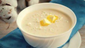 Рисово молочный суп при гастрите