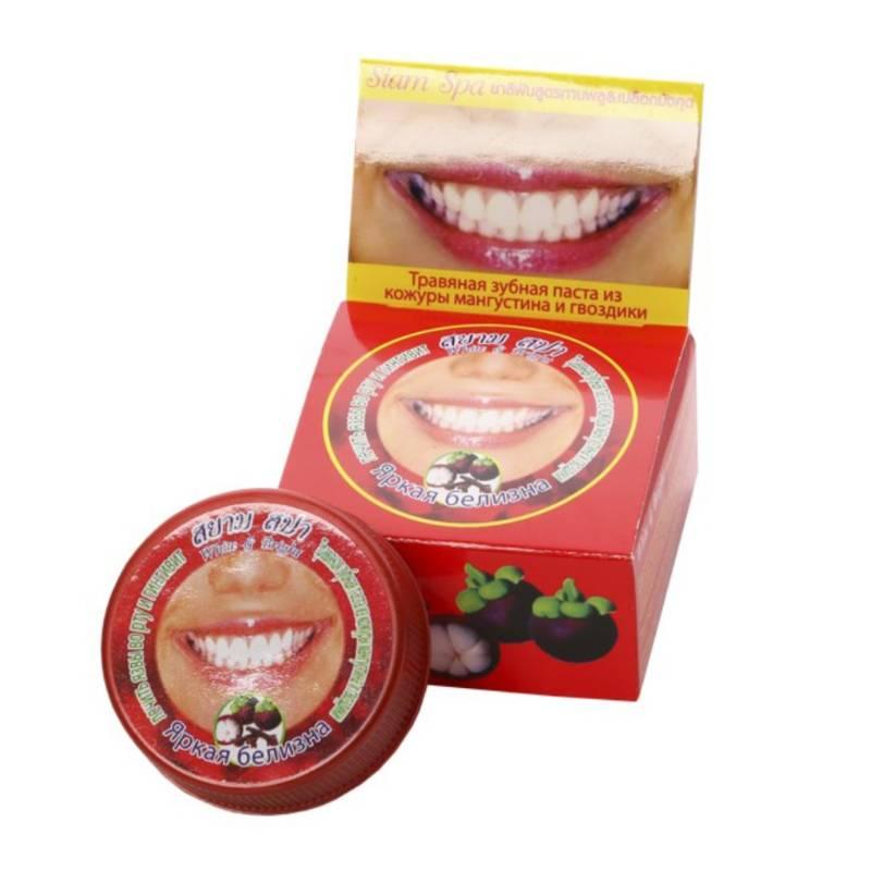 Зубная пастаЗубная паста Siam Spa (с мангустином)