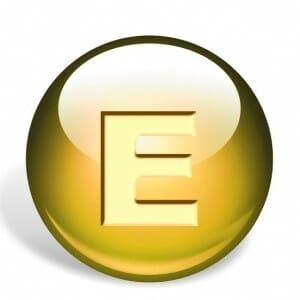 Шар с буквой Е