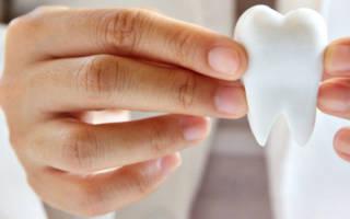 Зуб в руках